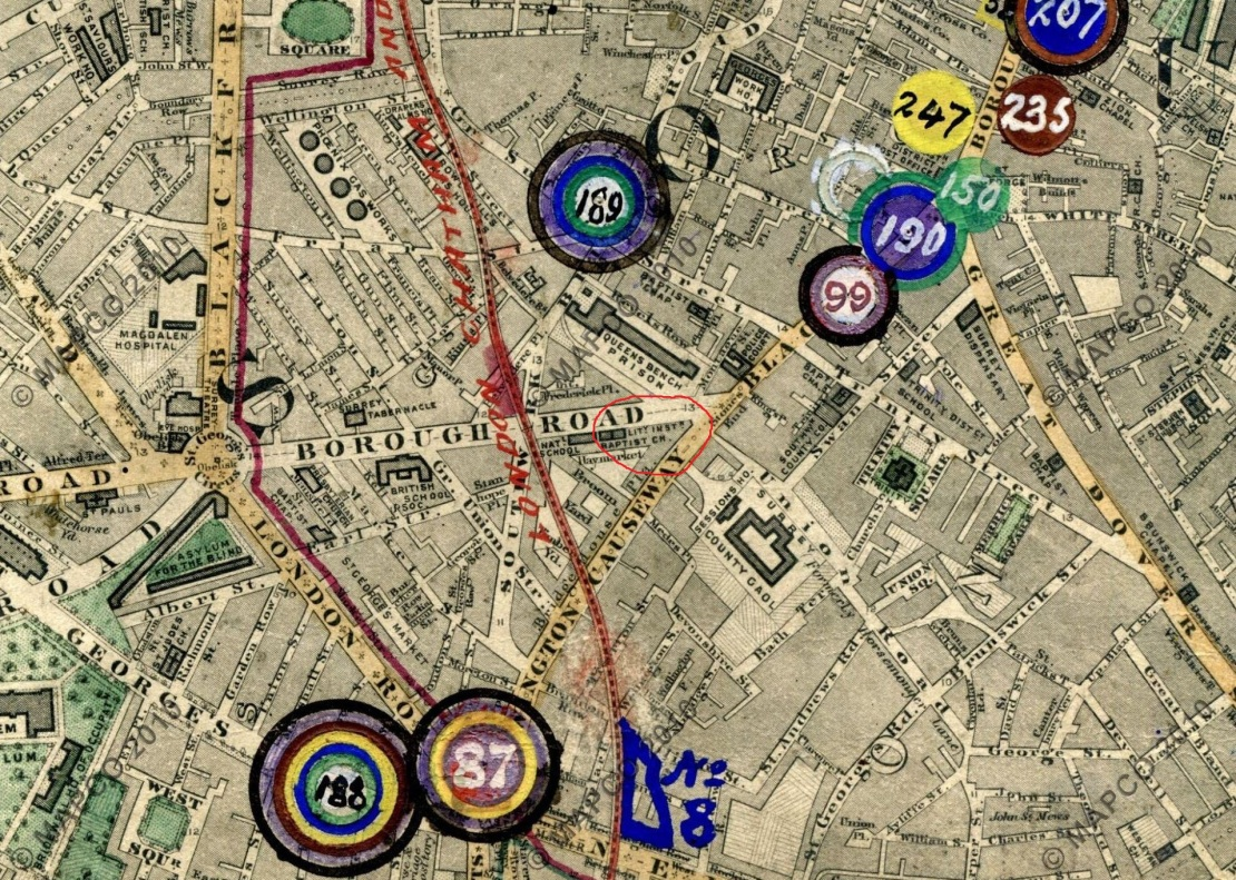 Stanford's Map of London, 1864 (Mapco)