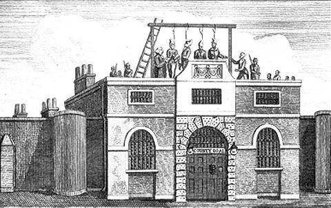 Horsemonger Lane Jail (http://www.epsomandewellhistoryexplorer.org.uk)