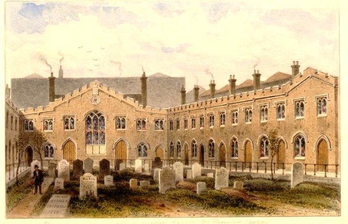 Thomas Cure's Almshouses (British Museum)