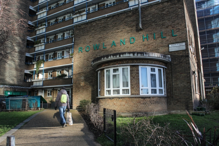 Rowland Hill housing