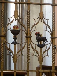Hardman's work, Blessed Sacrament Chapel