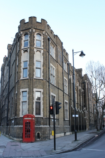 The triangular ground from the corner of Westminster Bridge Road St Georges Road