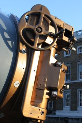 15 inch guns outside the IWM