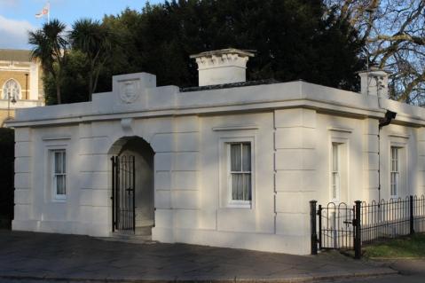 The Lodge, designed by Sydney Smirke