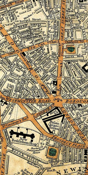 Cary's Map of London, 1837 (Mapco)