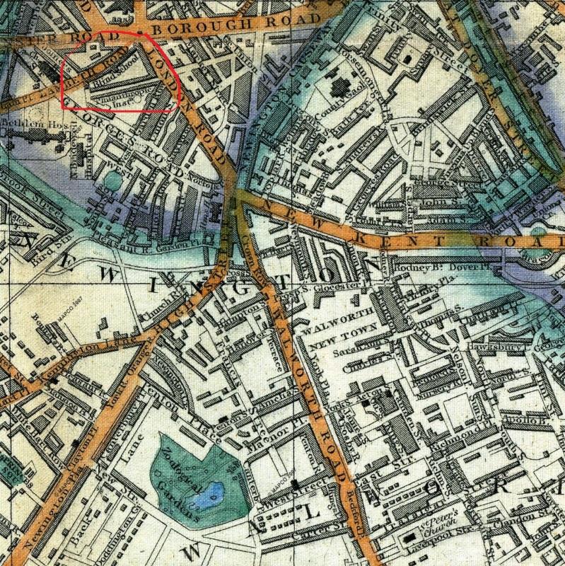 Cross's London Guide, 1851 (Mapco)