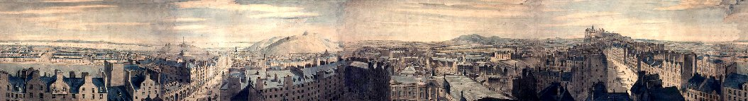 Robert Barker panorama of Edinburgh, http://facweb.cs.depaul.edu/sgrais/panorama.htm
