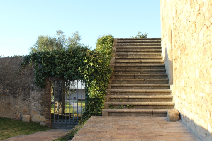 Outside stair