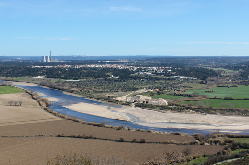 View from the Castle, south over the Tagus