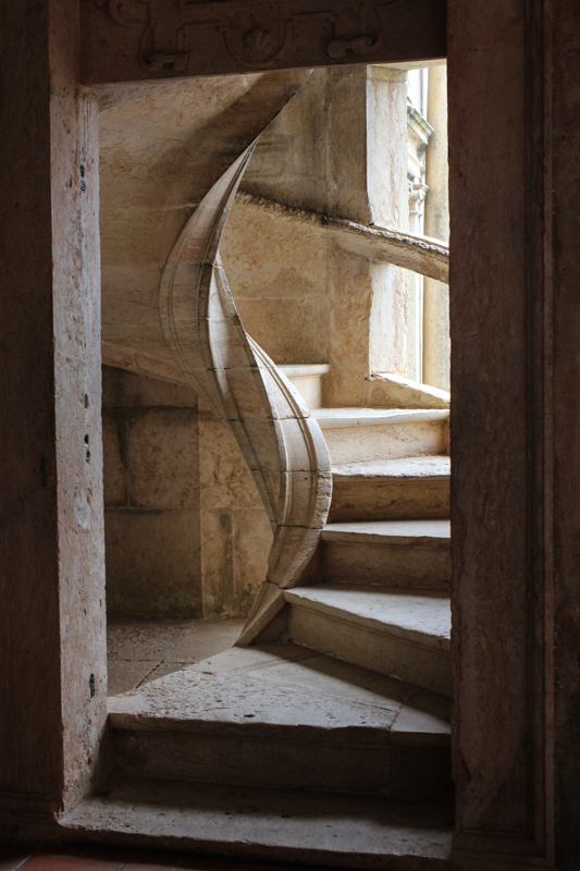 Stair in the Royal Cloister