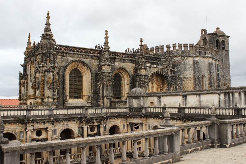 The Convent of Christ from an upper level