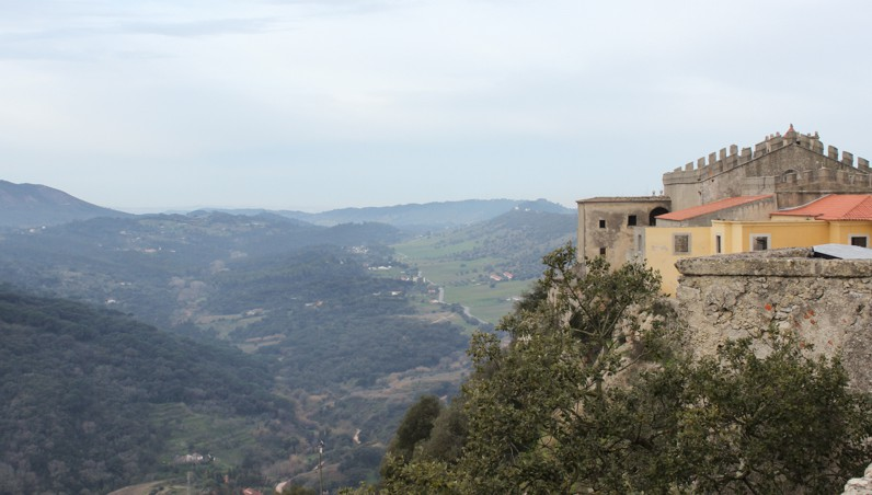 A view from Palmela Castle