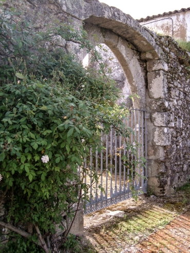 An old gateway into the Monastery