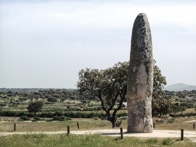 The Menhir de Meada
