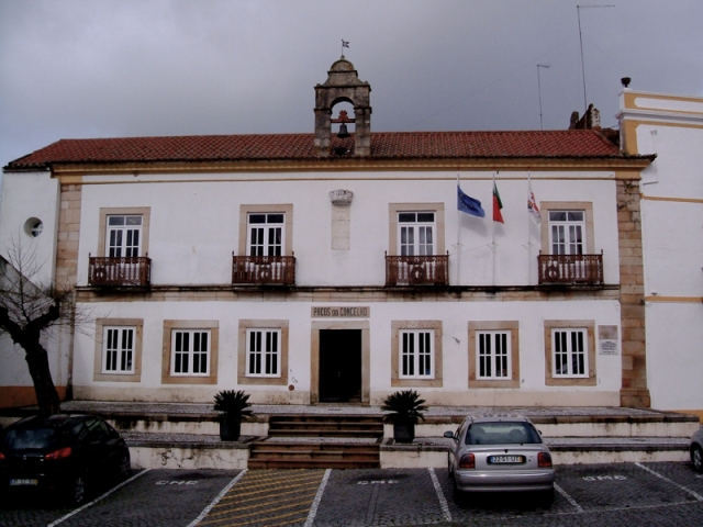 The Municipality offices, Crato, Pacos do Concelho