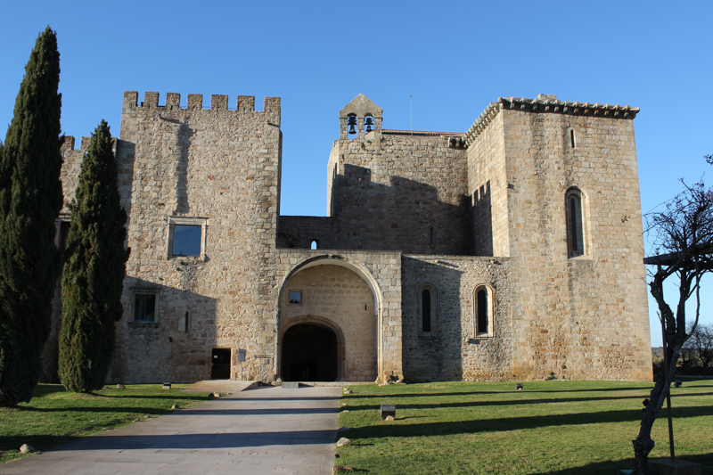 The Monastery/Castle of Flor da Rosa
