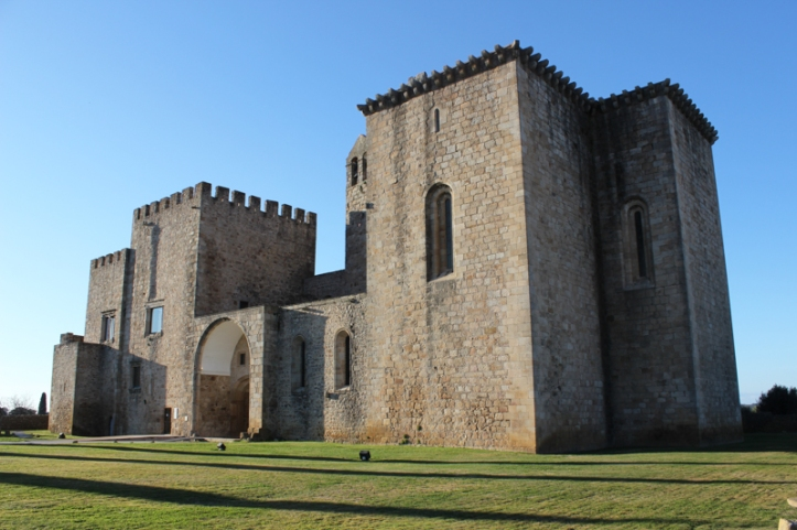 The Tower and Church of the original buildings at Flor da Rosa