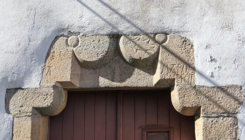 Doorway near the Town Fountain, Castelo de Vide