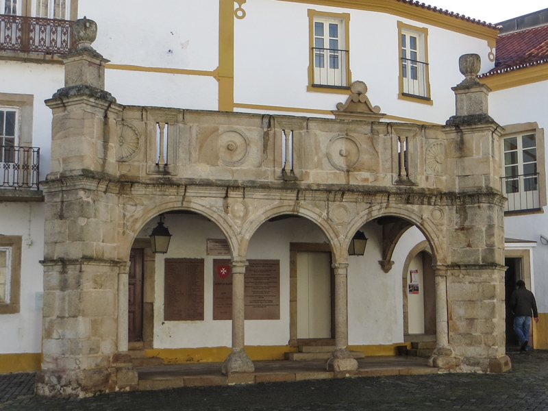 The Prior's Balcony, the remains of the Prior's Palace, Crato