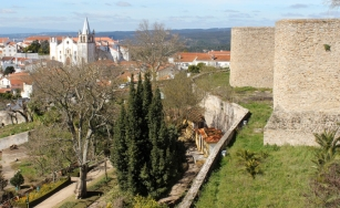 The view over the town, with the secondary, Vauban-type walls
