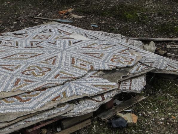 Mosaics at the Villa Cardillo