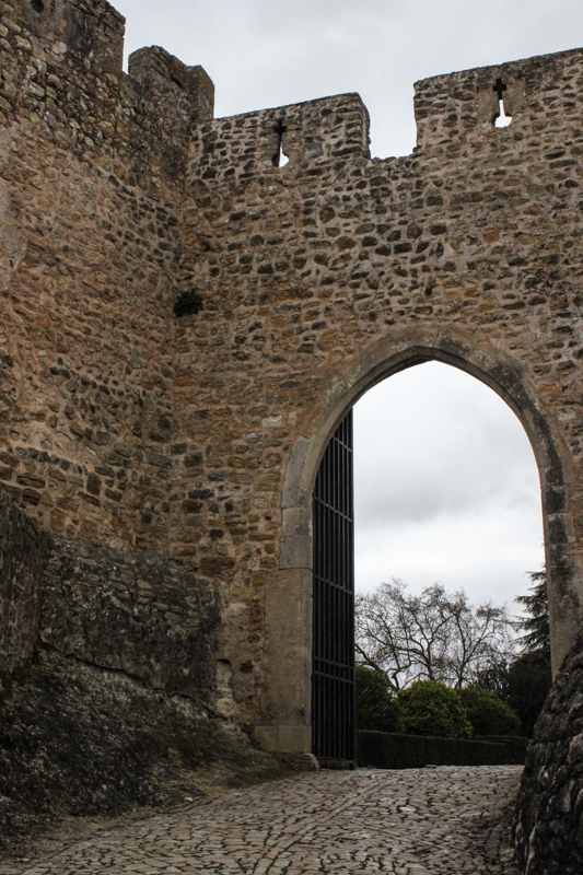 An inner gateway into the Castle, Tomar