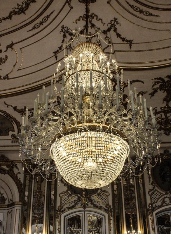 Chandelier in the Ballroom, Queluz