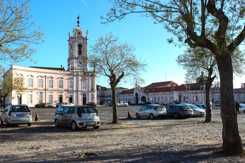 The Clock House, now the Pousada de Reina Maria