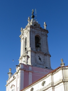 The Clock Tower on the Pousada