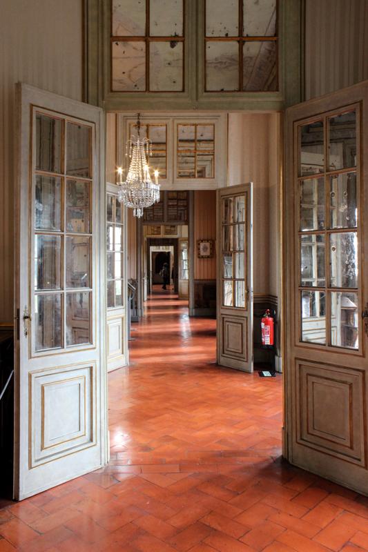 Inside the Royal Palace, Queluz