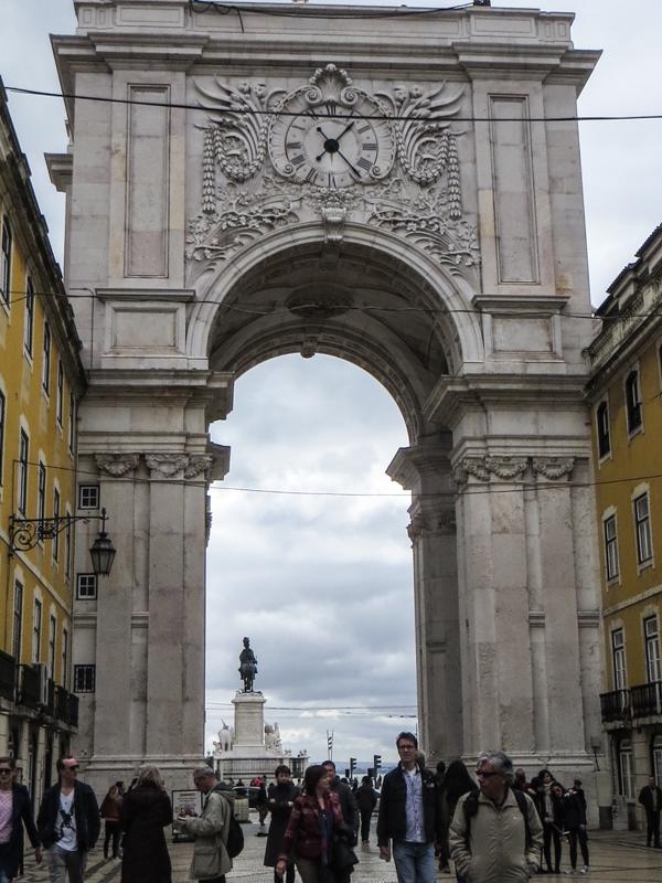 Arch of the Rua Augusta