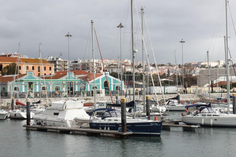 Marina on the Tagus River