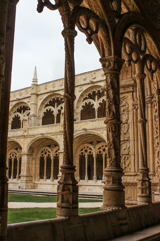 The cloister, St Jeronimos, Lisbon