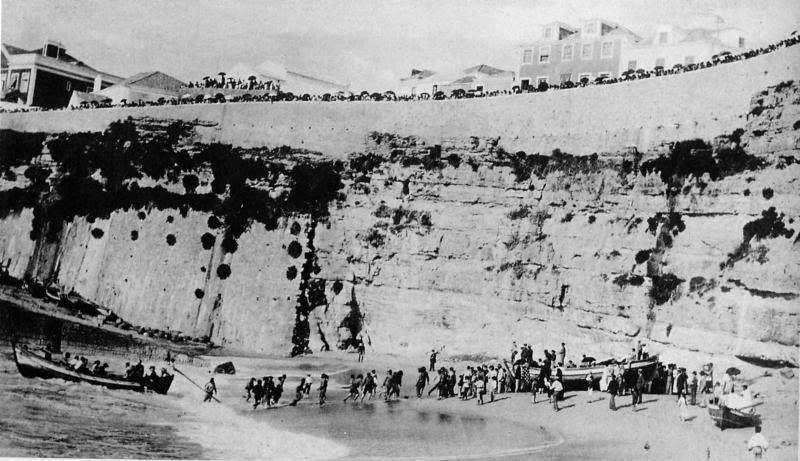 Ericeira, departure of Royal Family (Wikipedia)