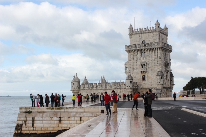 The Tower of Belem, looking towards the mouth of the Tagus