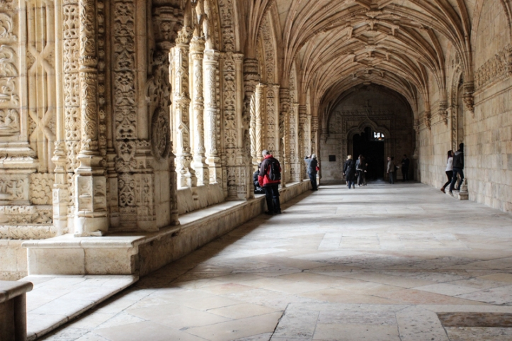 The Cloister, Monastery and Church of St Jeronimos, Lisbon