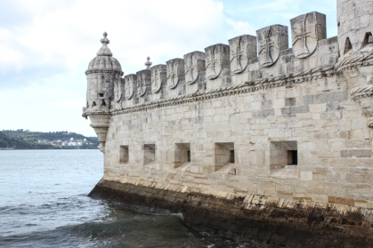 Moorish bartizan turrets on the Tower