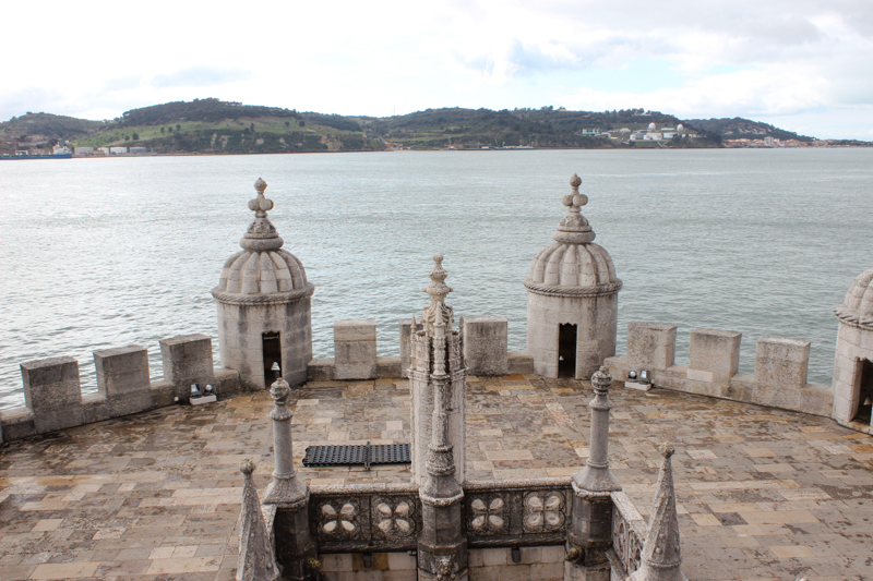 The Tower of Belem, looking towards the opposite side of the Tagus