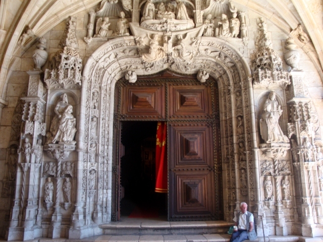 "The Main Door, ""Westernportal jeronimosmonastery"" by Lijealso - Own work. Licensed under CC BY 3.0 via Wikimedia Commons - http://commons.wikimedia.org/wiki/File:Westernportal_jeronimosmonastery.JPG#/media/File:Westernportal_jeronimosmonastery.JPG"
