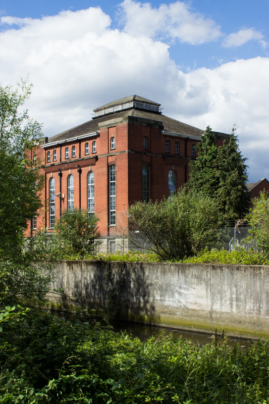 Victorian Water Pumping Station opposite Brookmills Park