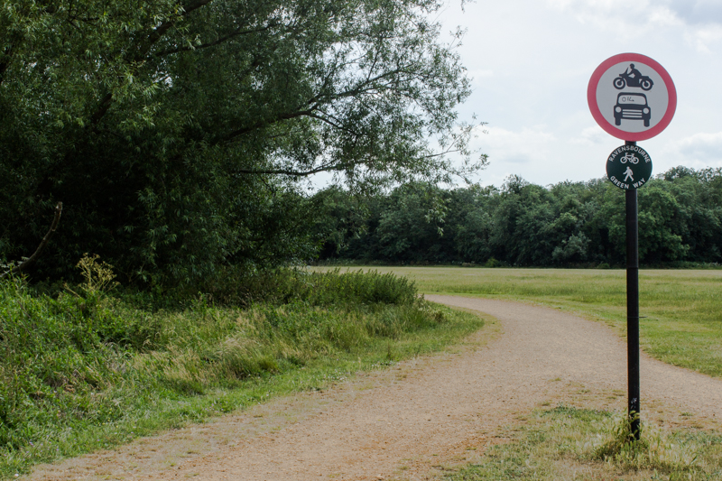 The unexpected emptiness of Beckenham Place Park