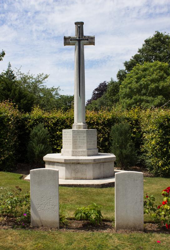 Canadian Corner, All Saints Cemetery, Orpington