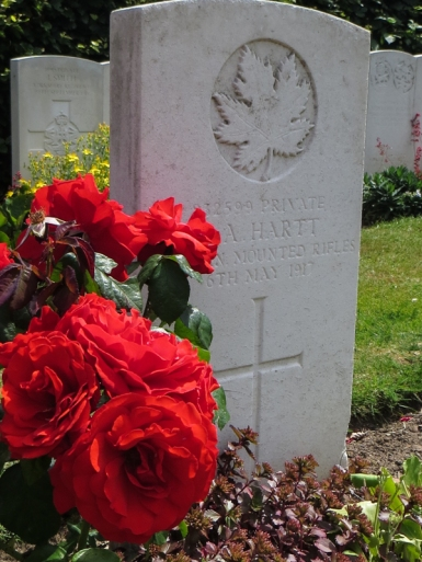 Canadian Corner, All Saints Cemetery, Orpington