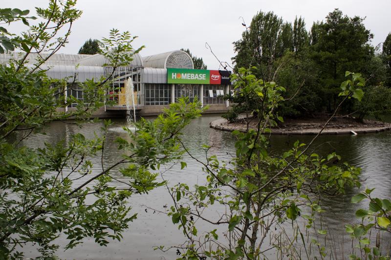 Southend Pond today