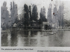 Southend Pond in 1860s