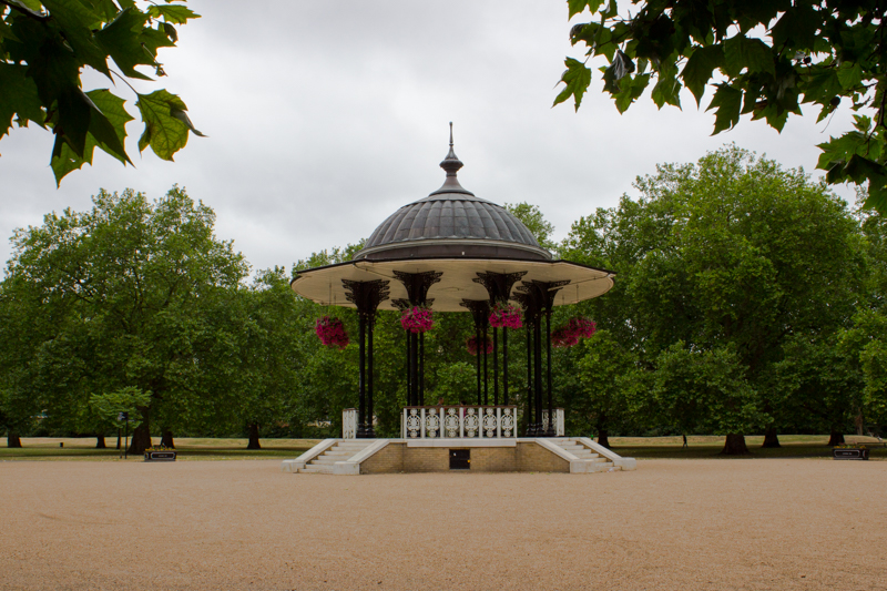 Bandstand, Southwark Park today