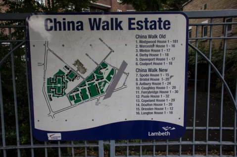 China Walk Estate off Lambeth Walk