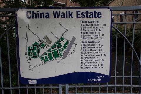 China Walk Estate off Lambeth Walk
