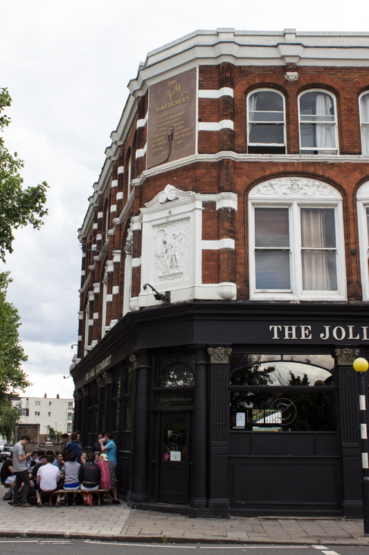 The Jolly Gardeners, Black Prince Road
