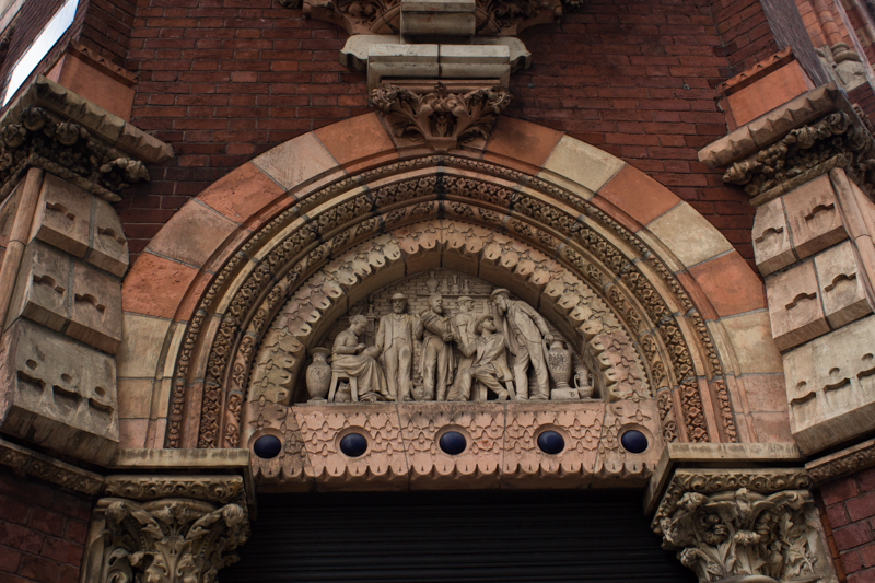 The Tinworth Tympanum at the Royal Doulton Factory